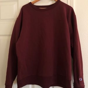 Champion Maroon Sweatshirt